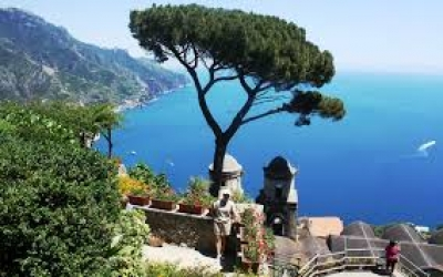 The famous view from Ravello